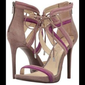 New Jessica Simpson Rensa high heel sandals